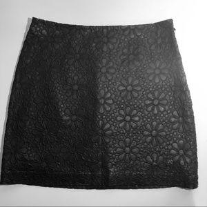 Club Monaco Skirts - Club Monaco size 0 black mini skirt